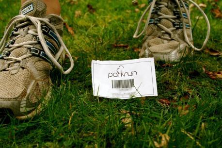 Parkrun bar code