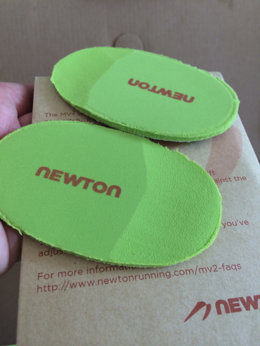 Newton MV3 3mm heel inserts
