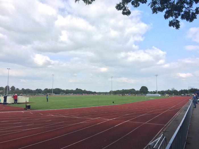 Bournemouth Kings Park Athletics Track