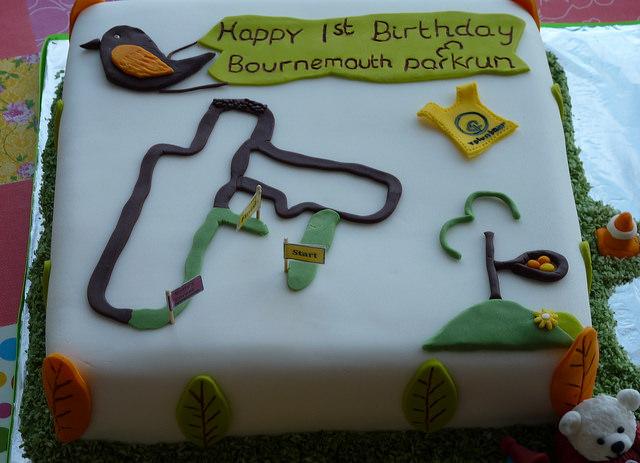 Happy Birthday Bournemouth parkrun!
