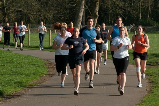 Pictured: Cardiff parkrun