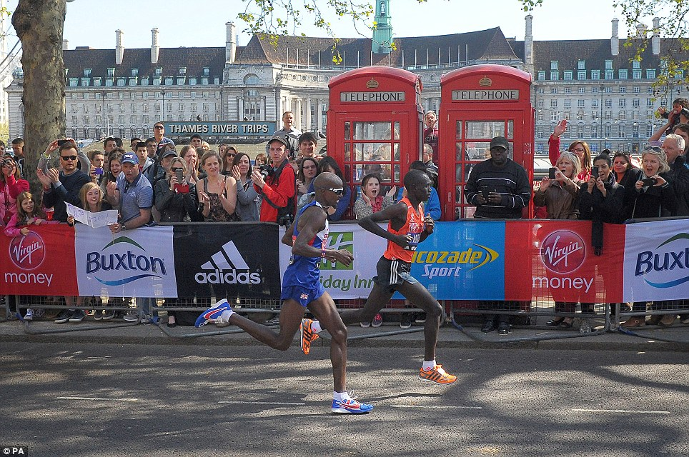Mo Farah Nike Flyknit Racers London Marathon