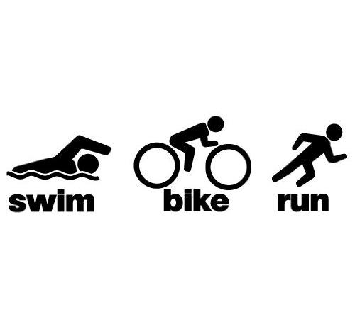 Triathlon sign